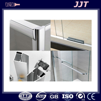 easy assembly anodizing aluminium extrusions profiles for shower room door screen