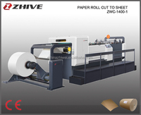 Roll Paper Sheet/sheeter Cutting Machine/Cutter/Guillotine ZWC-1400