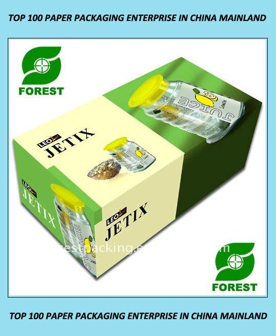 Capsule Printed Corrugated Carton Box