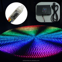 mini led pixel lights dmx control software with ws2811 controller