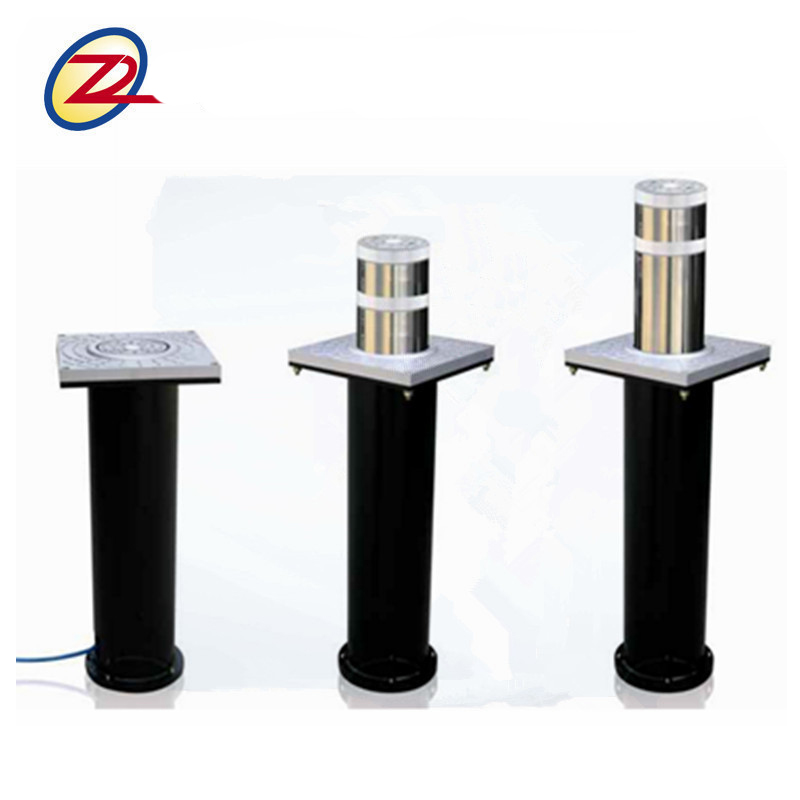 304 stainless steel hydraulic rising bollards for car park