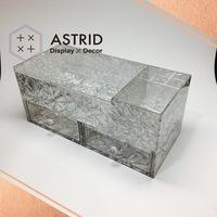 Astrid Top Grade Acrylic Customized Tea Bag Storage Organizer Container
