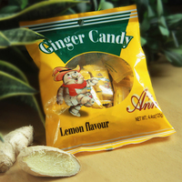 Lemon Flavour Ginger Candy