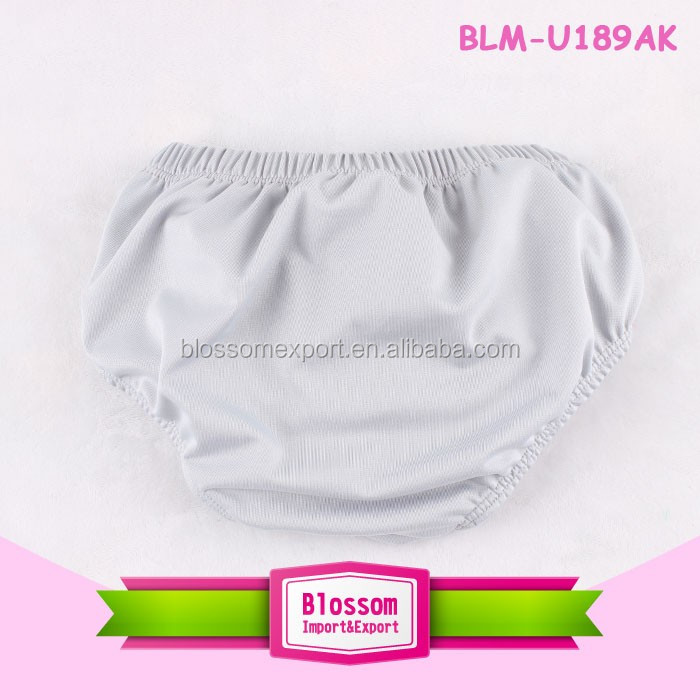 New Style fashion boutique design 2016 infant summer baby plain bloomer