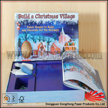 Birthday gift toy packaging die cut paper box