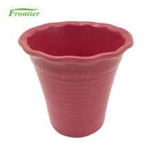 Eco-friendly Biodegradable plant fiber garden pot,bamboo fiber flower pot