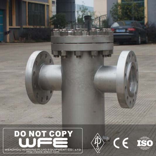 Basket / Y Type SS Flanged End High Quality Stainless Strainer