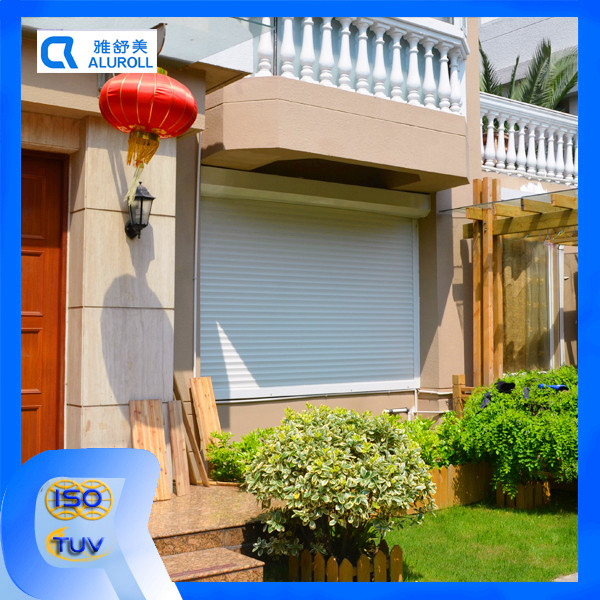Portable remote controling roller shutters
