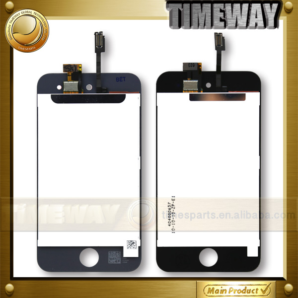 lcd screen for ipod touch 4 with digitizer assembly and refurbishing service