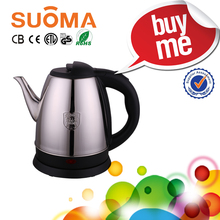 Quality control quickly burn water Turkey home appliance no plastic inside stainless steel brew electric kettle