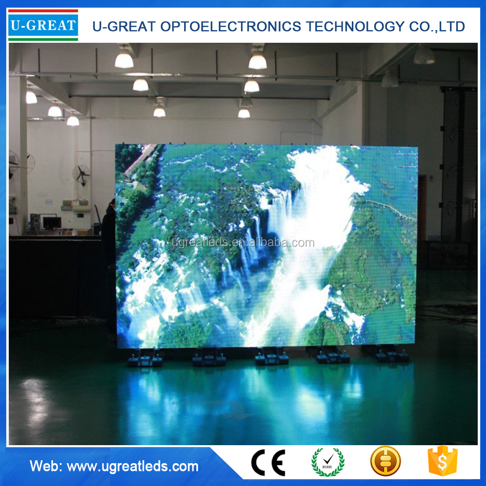 Popular Indoor HD Video Show P6 LED Display Module RGB 192x192mm