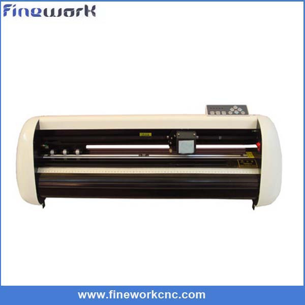 automatic machine 1250mm vinyl sign art sign cutting plotter with aircut software making machine