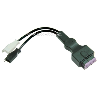 OBD-II Female to VAG 2x2pin Cable a
