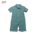 Flannel shirt toddlers clothing summer boys jumpsuits rompers cotton baby bodysuits