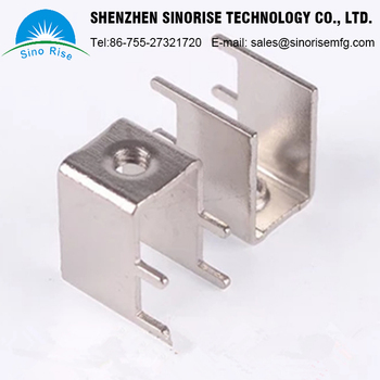 China suppliers CNC OEM product Stainless Steel Aluminum metal desk parts