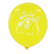 wholesale birthday party decoration latex printed balloons