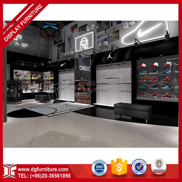 High end new arrival sports shop decoration for fancy shop