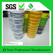 China Packing Tape Manufacturers Print Special any words any Country Font