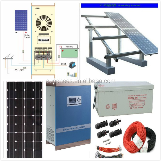 Complete home solar power system <strong>kit</strong> / solar <strong>kit</strong> off grid 15KW /grid tie solar panel <strong>kit</strong> ,solar panel system 15KW