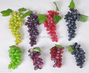decoration artificial grape/fake grape/plastic grape
