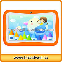 Super thin Allwinner A13 Dual Camera Colorful 7 inch vido mini one tablet pc for kids