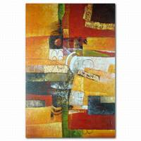 Home decor abstract canvas art chinese group oil painting without frame