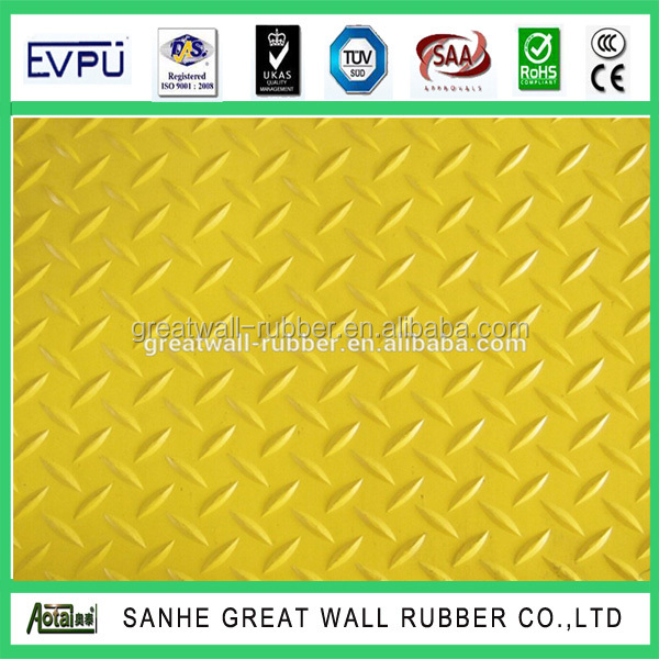 Factory sale rubber flooring for garages willow rubber flooring mat used in gym 3mm x 1m x 10m