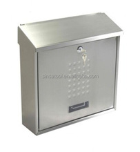 Hot sale wall mount stainless steel mail box posts