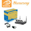 4CH WIFI NVR camera kit, 4CH NVR kit with WIFI IP camera, 4CH wireless camera kit wifi NVR kit