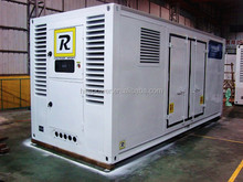 Strong power output soundproof canopy 1200kw diesel generator with Original Stamford alternator