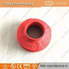 FM UL approved ductile iron 8 inch reducer pipe fittings