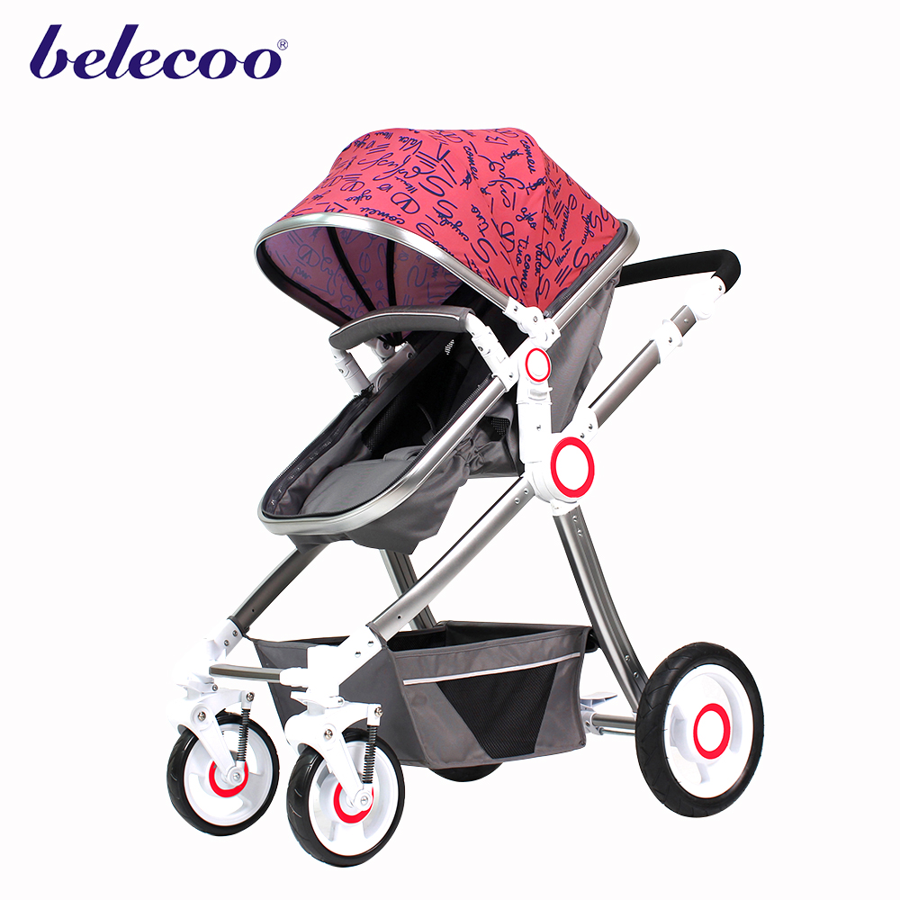 Luxury baby stroller/baby carriage/pushchair 3 in 1 manufacture baby product factory