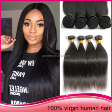 "Wholesale Hot Sale Brazilian Virgin Human Hair Weft Remy Straight 28"" Hair Weaving"