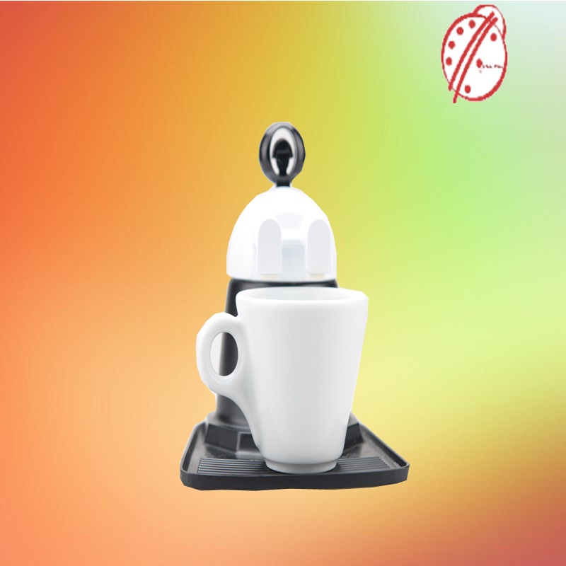 2cup unique travel portable car plug induction colored coffee foam maker