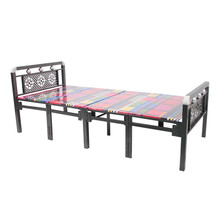 Cheap folding metal single bed