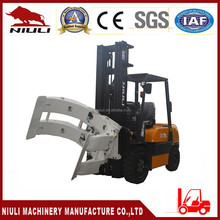 3 ton Diesel forklift with Paper Roll Clamp