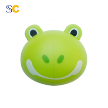 High quality cartoon Household toothbrush holder with lid