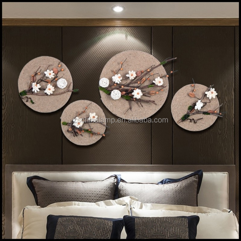 Customized Clear Resin Kitchen Wall Art With White Color Artificial Flower Branch For Home Decor And Office decor