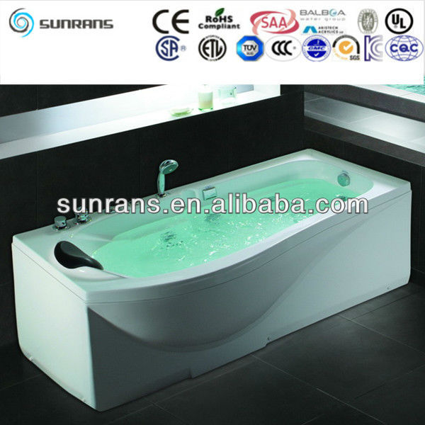 Top sell acrylic whirlpool bathtub indoor
