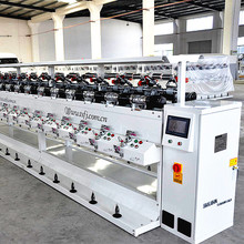 The knitting industry use hard/tight cone yarn winding machine textile machinery factory