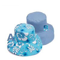 fabric floral bucket hat for summer women