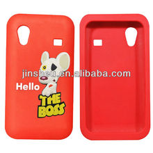 3D custom silicone cell phone case