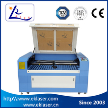 Yk-1410 co2 maquina laser precision wood cutting machine with linear moto for sale