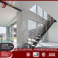 grateful stainless steel stair handrails/galvanized steel handrails/prefabricated handrails