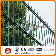 Germany strong and durable welded double wire fence no folds