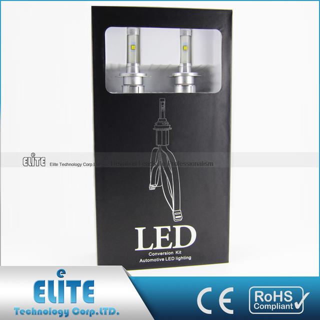 Highest Level High Intensity Super Bright Led Headlight Bulb H7 Wholesale