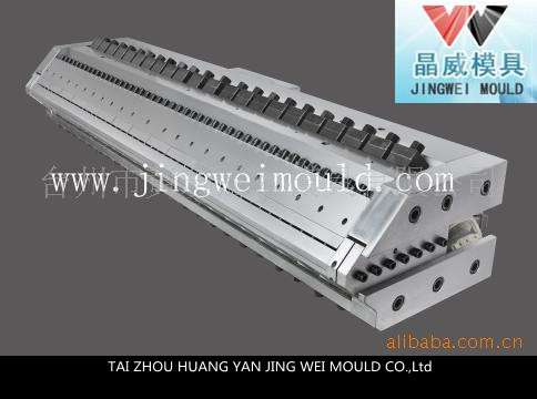 Flat die extrusion equipment supporting
