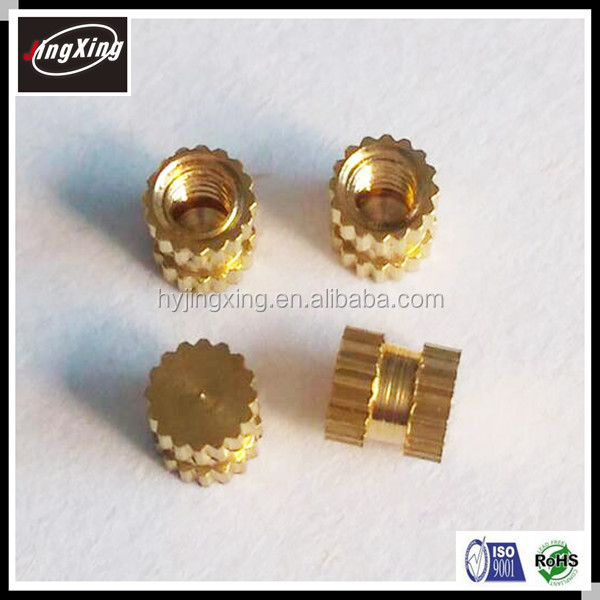 Plastic mold nut insert,brass nut/brass inserts for plastics