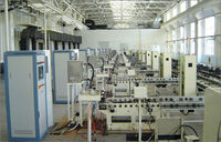 Engine production end of line test bench