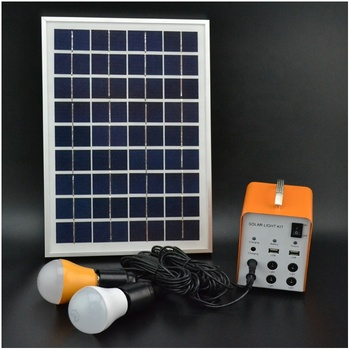 5W 4AH off grid solar energy generator home lighting system